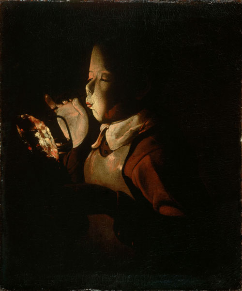Le Souffleur à la lampe